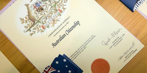 Australian citizenship changes