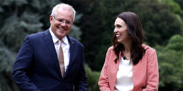 PM's Morrison and Ardern