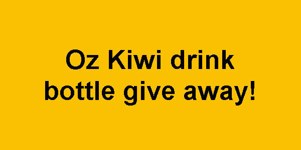 Donate and get some drink bottles